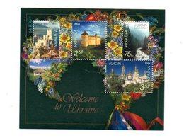 Feuillet Europa - Welcome To Ukraine -voir Etat - Europa-CEPT