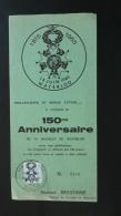 Feuillet Commémoratif Bataille De Waterloo Napoleon Belgique 1965 - Napoléon