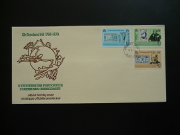 FDC Rowland Hill Nouvelles Hebrides New Hebrides (FR) 1979 - FDC