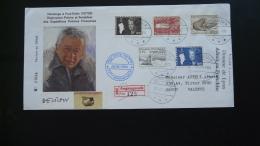 Lettre Cover Explorateur Explorer Paul Emile Victor Angmagssalik Groenland Greenland 1984 - Briefe U. Dokumente