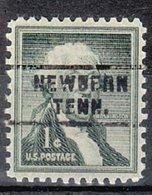 USA Precancel Vorausentwertung Preo, Locals Tennessee, Newbern 743 - Vorausentwertungen