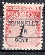 USA Precancel Vorausentwertung Preo, Locals Tennessee, Nunnelly 882 - Vorausentwertungen