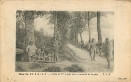 GUERRE 1914 A 1917 ABRIS DE 2em LIGNE AUX ENVIRONS DE SOUPIR - Guerre 1914-18