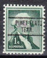 USA Precancel Vorausentwertung Preo, Locals Tennessee, Piney Flats 734 - Préoblitérés