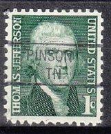 USA Precancel Vorausentwertung Preo, Locals Tennessee, Pinson 841 - Vorausentwertungen