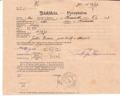 2657   POVRATNICA  MENGEŠ  1899 - Slovenia