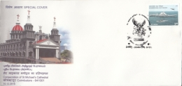 India  2018   Consecration Of St. Michael's Cathedral  Cover #  12248  D Inde Indien - Churches & Cathedrals