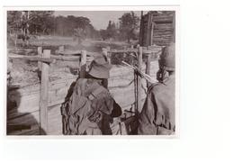 Vietnam Viet Nam Guerre Indochine Soldat Militaire Photo 11,6x8,7cm - Cambogia