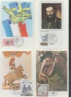 FRANCE -- CARTES-MAXIMUN-- LOT DE 12 CARTES DIVERSES -- - Cartes-Maximum
