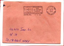 SEINE MARITIME, Le Havre, Flamme SCOTEM N° 12536, 16e Championnat Du Monde De Voltige Aérienne - Marcophilie (Lettres)