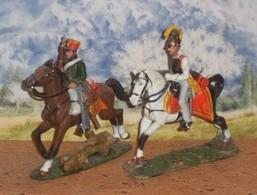 Del  Prado  Autriche    Hussard 1814 + Cuirassier 1809 - Tin Soldiers