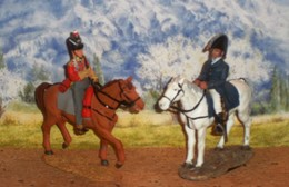 Del  Prado  Gr. Bretagne  Dragon 1809 + Wellington 1812 - Tin Soldiers