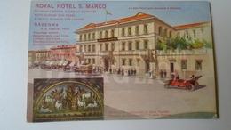 D159387  Italia - Ravenna - Royal Hotel S. Marco -  Mosaico - Automobile -A.N.Tontini Ca 1910 - Ravenna