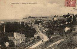 ANGOULEME VUE COTE DE LA TOURGARNIER - Angouleme