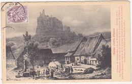 Notre Vieille Alsace - Château De Fleckenstein, Près De Niederbronn - Alsace