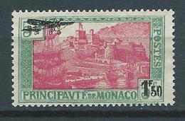 MONACO 1933 . Poste Aérienne N° 1 . Neuf (*) Sans Gomme. - Poste Aérienne