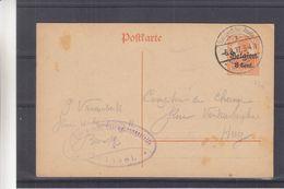 Belgique - Carte Postale De 1917 - Entier Postaux - Oblit Sint Joost Ten Noode - Exp Vers Huy - Avec Censure - Army: German