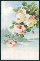 Artist Signed Catherine Klein Flowers Serie 250-4435 Cartolina TC6990 - Klein, Catharina
