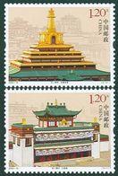 China 2009-16 Labrang Monastery STAMPS - Buddhism