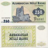 AZERBAIJAN       250 Manat       P-13b       ND (1999)       UNC - Azerbaïjan