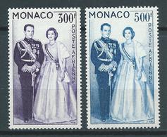 MONACO 1959 . Poste Aérienne N°s 71 Et 72 . Neufs ** (MNH) - Posta Aerea