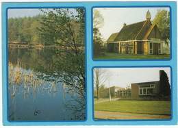 Sellingen - Ven A/d Beetserweg, Openbare Basisschool, Ned. Herv. Kapel 'Opwaarts', Sellingerbeetse  (Groningen, Holland) - Pays-Bas