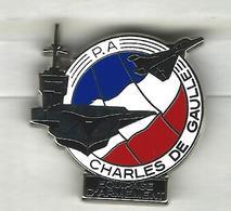PORTE-AVIONS CHARLES DE GAULLE - ÉQUIPAGE D'ARMEMENT - MARINE NATIONALE - Boats
