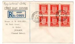 JERSEY - OCCUPATION ALLEMANDE - 1941 - FDC - Jersey
