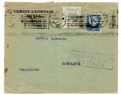 ESPAGNE - LETTRE Avec Censure Militaire Sevilla (16/11/1936) + Vignette Locale - Marcas De Censura Nacional