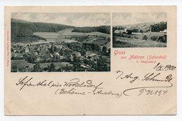 Tchéquie - Gruss Aus Mohren (Sofienthal) Près Wekelsdorf - 1900 - Signée Par L' Editeur Aug. Schmidt. - Czech Republic