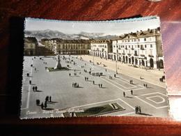 17620) CUNEO PIAZZA DUCCIO GALIMBERTI VIAGGIATA 1958 - Cuneo