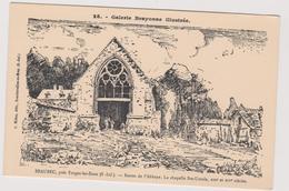 76  Beaubec La Rosiere Pres Forges Les Eaux   L'abbaye  La Chapelle Sainte Ursule Galerie Brayonne Illustree Par Riden - France
