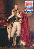 D34528 CARTE MAXIMUM CARD TRIPLE FD 2013 NETHERLANDS - KING WILLIAM I CP ORIGINAL - Royalties, Royals