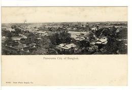 Carte Postale Ancienne Thaïlande - Panorama City Of Bangkok - Thaïlande