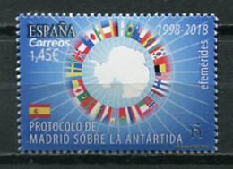 Spain 2018 España / Antarctica MNH Antártida Antarktis / Cu8712  41 - Tratado Antártico