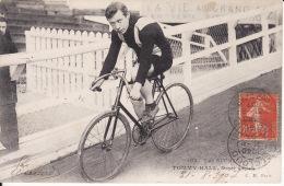 Cycliste, Cyclisme, Tommy Hall, 1907, 2 Scans - Cyclisme