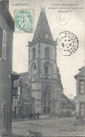 SOMME - 80 - GAMACHES - 2700 Hab - VEglise - Clocher - François 1er - France