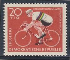 DDR Germany 1960 Mi 779 ** Racing Cyclist – World Cycling Championships /  Radweltmeisterschaften, Leipzig, Chemnitz - Wielrennen