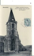 SOMME - 80 - GAMACHES - 2700 Hab - Eglise - Papier Glacé 1906 - France