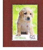 AUSTRALIA  -  SG 2441  - 2004 DOGS: LABRADOR RETRIEVER  - USED - Usati