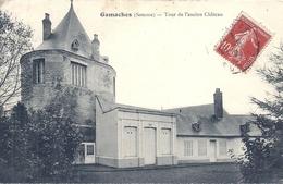 SOMME - 80 - GAMACHES - 2700 Hab - Tour Ancien Château - France