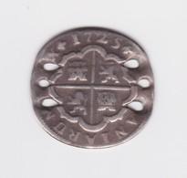 2 Réales 1725 Percée Pour Bracelet - Other