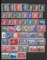 III° REICH - ANNEE 1941 PRESQUE COMPLETE  **/MNH - COTE = 195 EUR - Deutschland