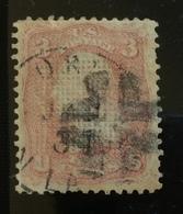 STATI UNITI 3 C.  Perfetto BB  FIRMATO DIENA - 1847-99 General Issues