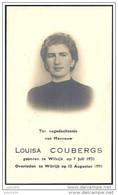 WILRIJK ..--  1920 >>1950 . Mevrouw Louisa COUBERGS . Zie Andere Scan . - Altri
