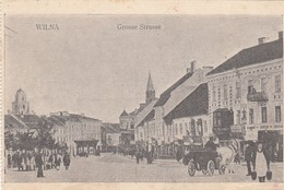 Wilna - Grosse Strasse - Feldpost - Lithuania