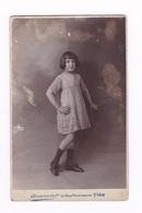 Photo-CPA Fillette, à Identifier ! Photo Chambertin, 63 Boulevard Rochechouart, Paris. Avant 1904 - Anonymous Persons
