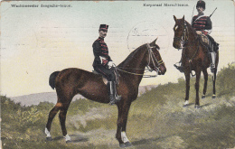 Pays-Bas - Militaria - Onze Land - En Zeemacht - Cavalerie - Daagstenue Marschtenue - Cachet 1908 S-Gravenhage - Pays-Bas
