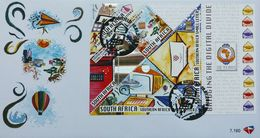 South Africa 2010 First Day Cover FDC Bridging The Digital Divide Letter Computers Sciences Post 18/1/2010 Stamps SG1743 - Post