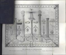 Manuel Complet Franc-Maçonnerie édition 1946 3 Degrés Tableau Loge Complete Manual Freemasonry William Harvey - 1900-1949